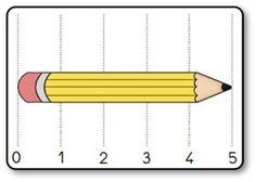 La bataille des longueurs sur les outils de la classe Kindergarten Classroom, Fractions, Math Centers, Mathematics, Lesson Plans, Geometry, Preschool, Maths, Activities
