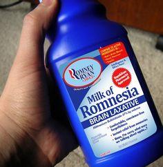 Milk of Romnesia...LOL!!