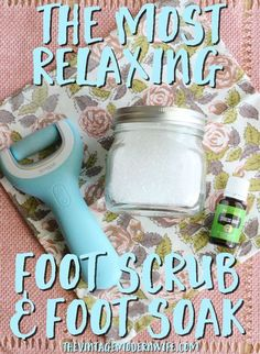 This foot scrub and foot soak are the best I've ever tried! That Amopé™️ Pedi Perfect Wet & Dry Rechargeable Foot File made my feet so soft! Definitely will be using this essential oil recipe again!