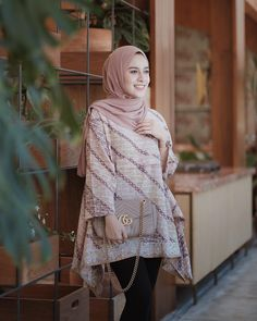 Muslim Fashion, Modest Fashion, Hijab Fashion, Fashion Outfits, Women's Fashion, Fashion Sewing, Batik Kebaya, Batik Dress, Kebaya Lace