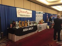 The ASSA ABLOY booth at the CSI Expo in Allentown, PA!
