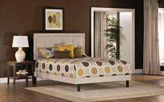 Hillsdale Furniture 1299BFRB Becker Full Bed Set w/ Rails