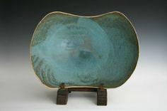 Waistel Cooper. large open bowl on three feet — Oxford Ceramics