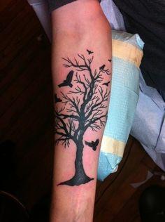 Courtney, Black And Blue Tattoo, San Francisco