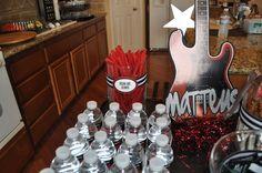 "Photo 1 of 26: Rock Star / Birthday ""Matteus' 1st Birthday Bash""   Catch My Party"
