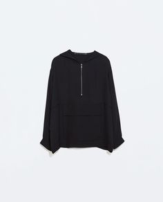 フード付きステュディオシャツ - シャツ ブラウス - レディース | ZARA 日本