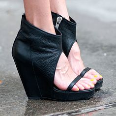 shoes are cute but her feet must be working really HARD....look at those veins!