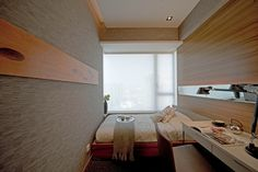 узкая спальня: дизайн
