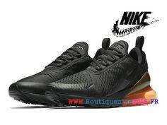 b97275c7984 Nike Air Max 270 Basketball Chaussures Pas Cher Prix Homme Noir  Tonal-Orange-AH8050-008