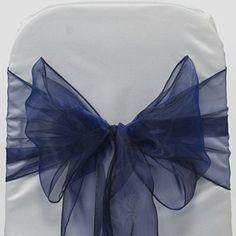 MDS 100 Organza Chair Cover Bow Sash Wedding Banquet Decor navy blue mds http://www.amazon.com/dp/B010I6087K/ref=cm_sw_r_pi_dp_3L7nwb13YARKD