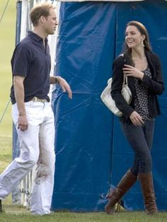 5/10/2009: Audi Polo Challenge charity match at Guards Polo Club, with Prince William (Windsor, Berkshire)