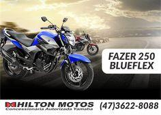 HILTON MOTOS: FAZER 250 BLUE FLEX. Compre hoje a sua na Hilton M...