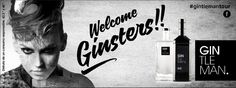 Valla Gintleman. Capaña Welcome Ginsters!