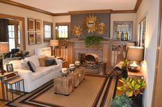 Fall Inspiration for living room decor