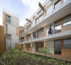 27 logements étudiants, Paris 10e, Babin + Renaud Architectes
