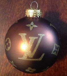 Louis Vuitton Inspired Ornament