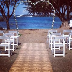 Beautiful day for Nathan & Jamie 21.02.2014 So lucky with the weather! Styling by www.breezeweddings.com.au #duranbahbeachwedding #eberneezerpark #wedding #ebenreezerparkwedding #heartweddingarch #breezeweddingsaustralia
