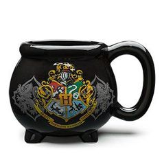 It might be small compared to other cauldrons, but don't underestimate this Harry Potter cauldron mug! Holding a generous 20 ounces, it's big enough to do some serious desktop potion mixing.