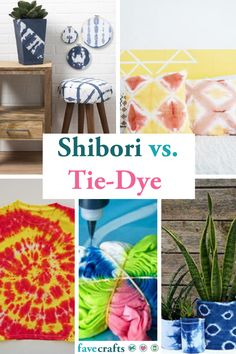 Shibori vs. Tie-Dye — What's the Difference? Tie Dye Folding Techniques, Fabric Dyeing Techniques, Tie Dying Techniques, Tie Dye Steps, How To Tie Dye, How To Dye Fabric, Tie Dye Instructions, Shibori Fabric, Dyeing Fabric