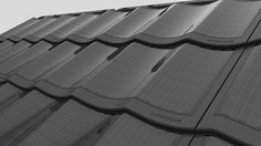 Solar Tile Superdome on Behance-custom solar roof that fits/invisible to roof design Solar Energy Panels, Solar Panels For Home, Pv Panels, Eco Buildings, Solar Roof Tiles, Property Design, Solar House, Solar Power System, Roof Design