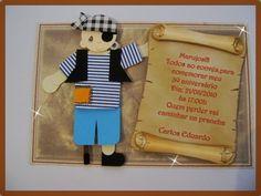 Convite Infantil Pirata
