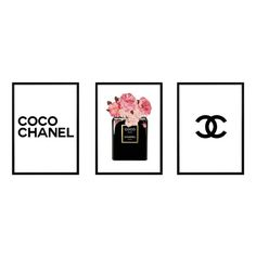 Coco Chanel Perfume Print Digital Prints Home Decor Poster Wall Hanging Poster Art Wall Art Wall Print Home Print You will recieve Prints - Printed on 220 GSM card. Typography Prints, Quote Prints, Wall Prints, Cherry Blossom Watercolor, Watercolor Print, Bubble Pictures, Print Pictures, Chanel Print, Poster Wall