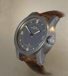 Schofield Beater wrist watch in steel