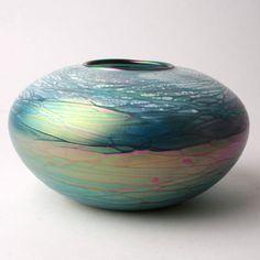 Green Galaxy Bowl – Fusion Art Glass Online Store