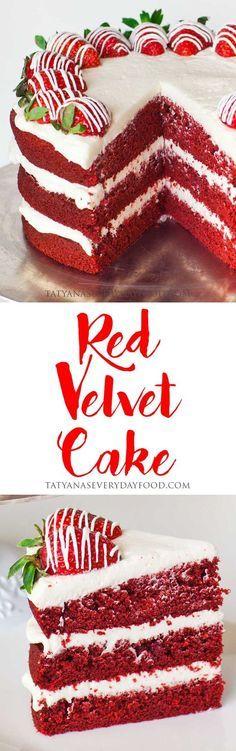 Red Velvet Cake - Tatyanas Everyday Food