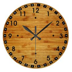 =>Sale on          	Bamboo Butcher Block Clock           	Bamboo Butcher Block Clock We have the best promotion for you and if you are interested in the related item or need more information reviews from the x customer who are own of them before please follow the link to see fully reviewsThis De...Cleck Hot Deals >>> http://www.zazzle.com/bamboo_butcher_block_clock-256505659713704401?rf=238627982471231924&zbar=1&tc=terrest