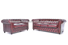 Check out this product on Alibaba.com APP Chesterfield Brighton red set sofa