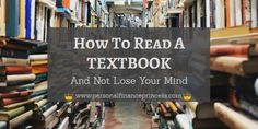 Read A Textbook