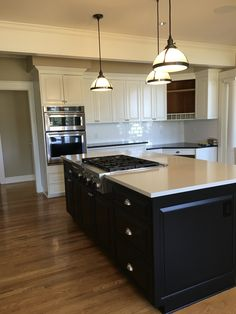 Refinished Black Cabinets By Chameleon Painting Slc Ut