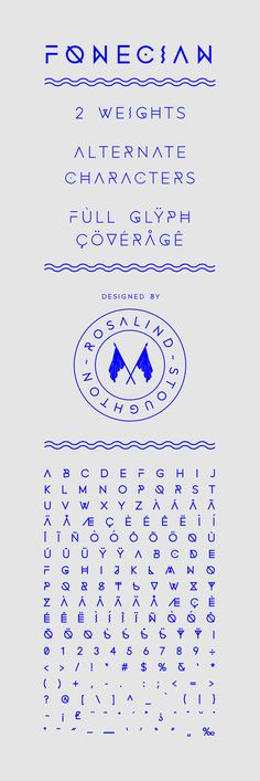 Fonecian Typeface by Rosalind Stoughton, via Behance type, typeface, cool, graphic, typography, minimal, typography design, design, graphic design, lettering, new, font, typo,