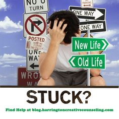 Feeling Stuck? Help is available