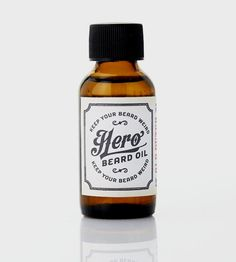 Hero Beard Oil   They say beards are a work of art and, well, we're inclined to...  