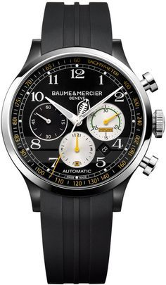 Baume et Mercier Watch Capeland Shelby Cobra Limited Edition #bezel-fixed…