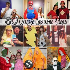 80 creative couple costumes for this Halloween!