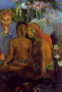 Paul Gauguin Contes Barbares print for sale. Shop for Paul Gauguin Contes Barbares painting and frame at discount price, ships in 24 hours. Paul Gauguin, Henri Matisse, Henri Rousseau, Gauguin Tahiti, Kunst Online, Impressionist Artists, Gustav Klimt, French Art, Vincent Van Gogh