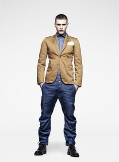 """For all of you who were wondering when my predicted """"dust bowl era menswear"""" stage would come. It is here. G-star"""