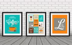 Kitchen decorcollection wall art kitchen by BlackPelican on Etsy