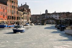 Венеция замерзла (красивые фото)