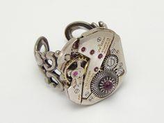 steampunk ring watch gears maria sparks 08 #steampunkring