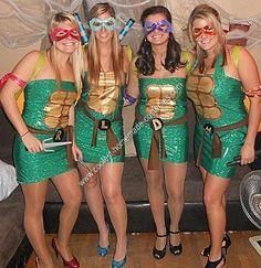 62 best ninja turtle costume ideas images on pinterest halloween coolest homemade teenage mutant ninja turtle group costume ideas solutioingenieria Image collections