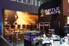 Turtle Beach Booth