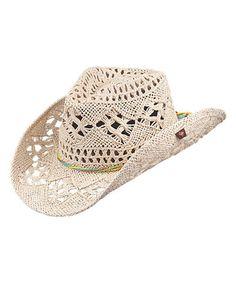 Love this Natural Ariel Cowboy Hat on #zulily! #zulilyfinds