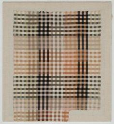 anni albers - tablecloth fabric sample 1930 - moma