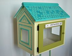 Little Free Library #3 by Amy Rice, via Flickr