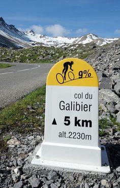 Tour de France-Col du Galibier