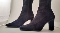 Anne Klein Suede Boots Size 6 M by sistersvintageattic on Etsy